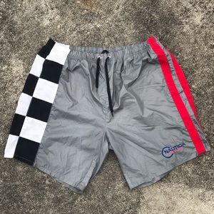 Vintage Nautica Competition Swim Trunks